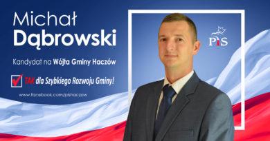 Program wyborczy kandydata na wójta Michała Dąbrowskiego i KW Prawa i Sprawiedliwości